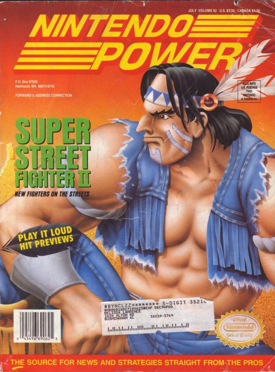 Nintendo Power Issue 062 (July 1994)