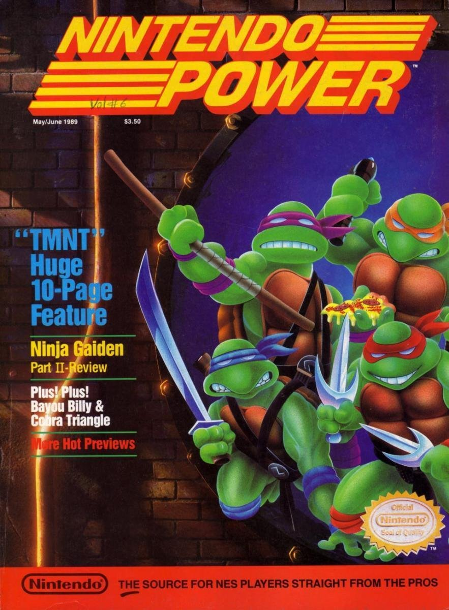 Nintendo Power Issue 006 (May/June 1989)