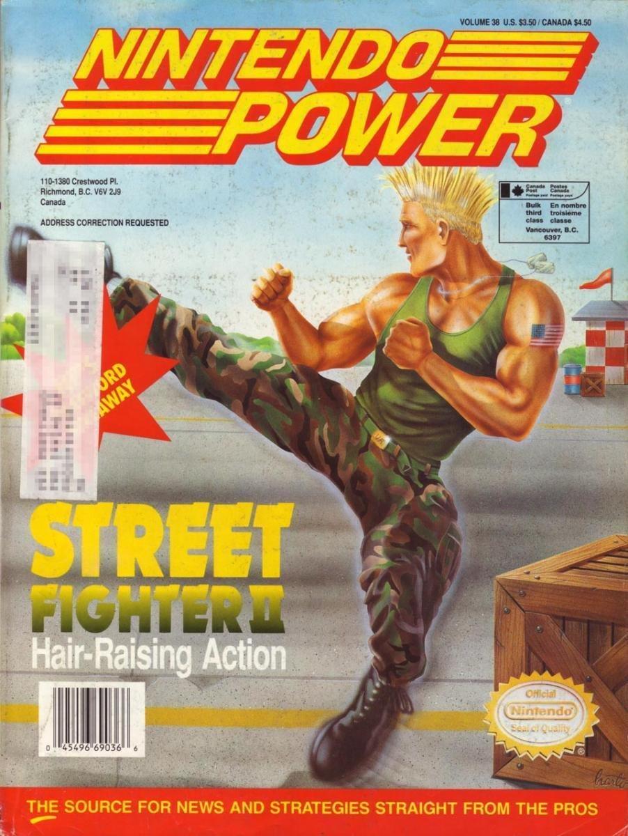 Nintendo Power Issue 038 (July 1992)