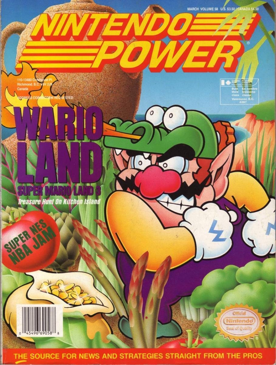 Nintendo Power Issue 058 (March 1994)