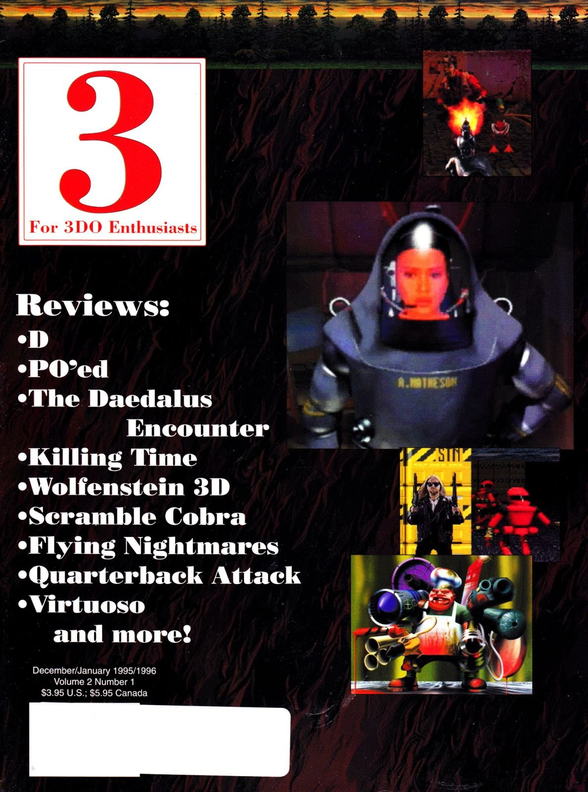 3 For 3DO Enthusiasts Issue 07 December 1995/Janaury 1996