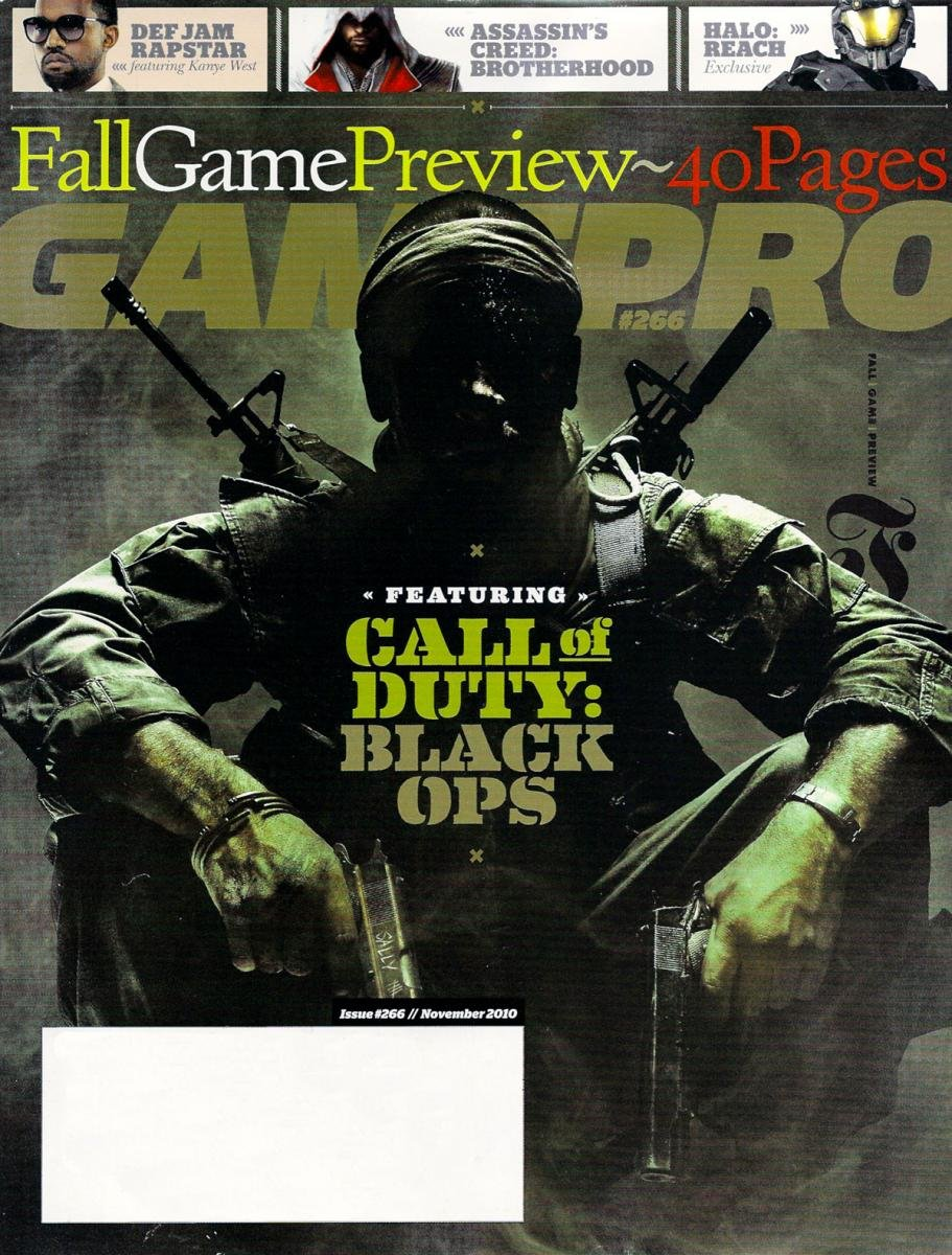 GamePro Issue 266 November 2010