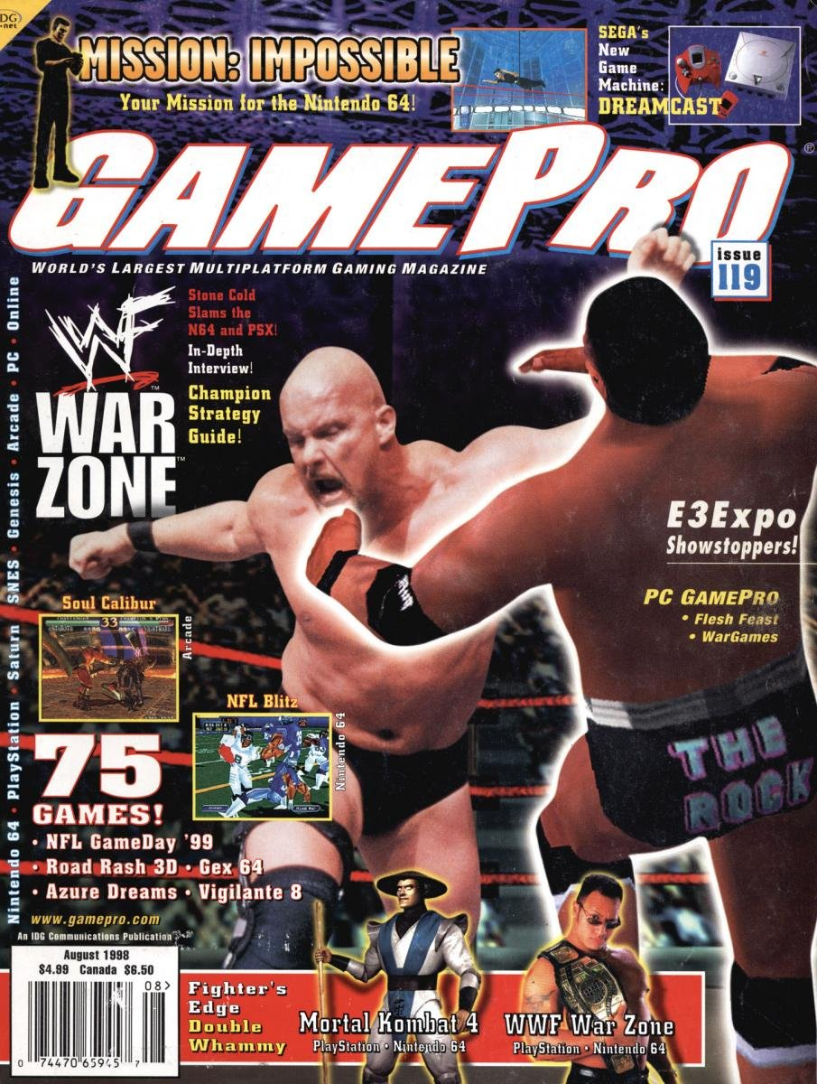 GamePro Issue 119 August 1998