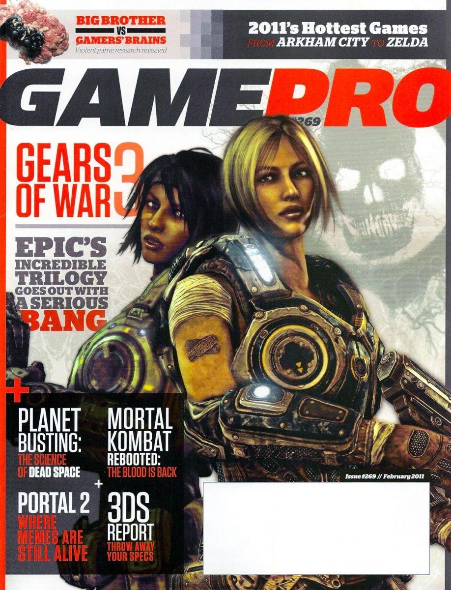 GamePro Issue 269 February 2011