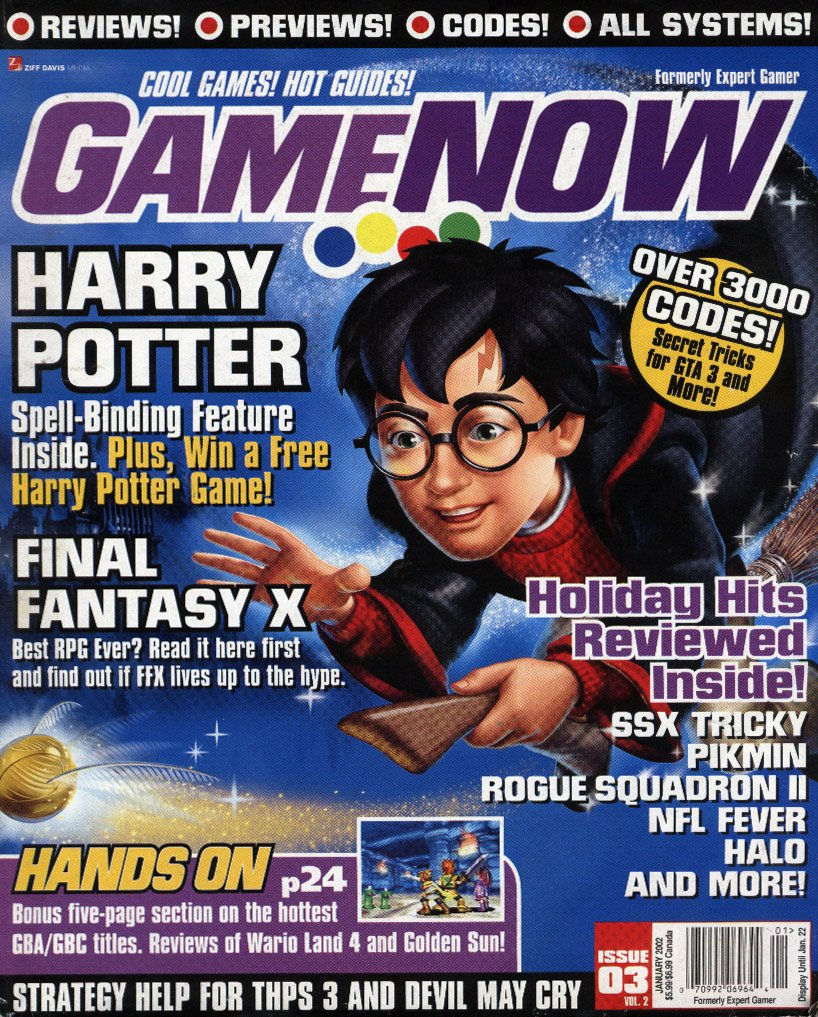 GameNOW Issue 03 January 2002