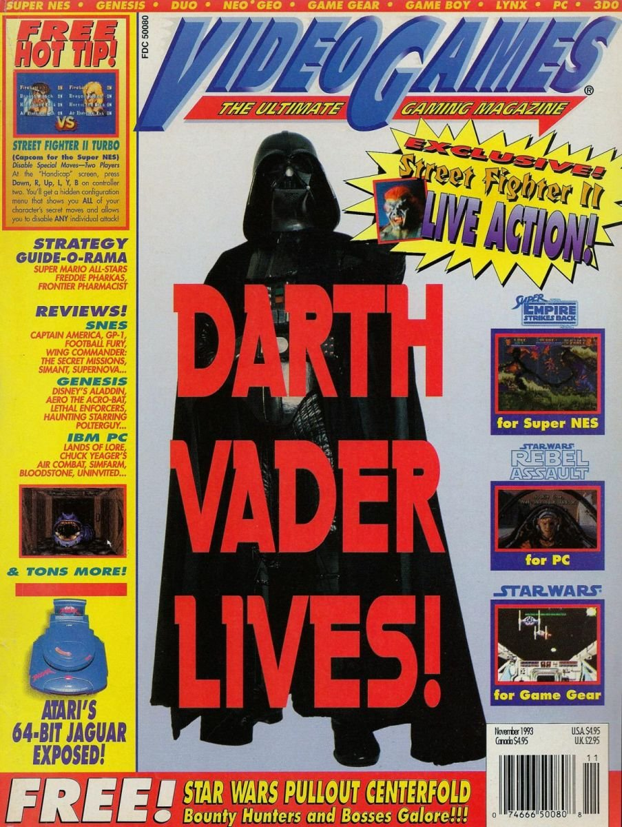 Video Games Issue 58 November 1993