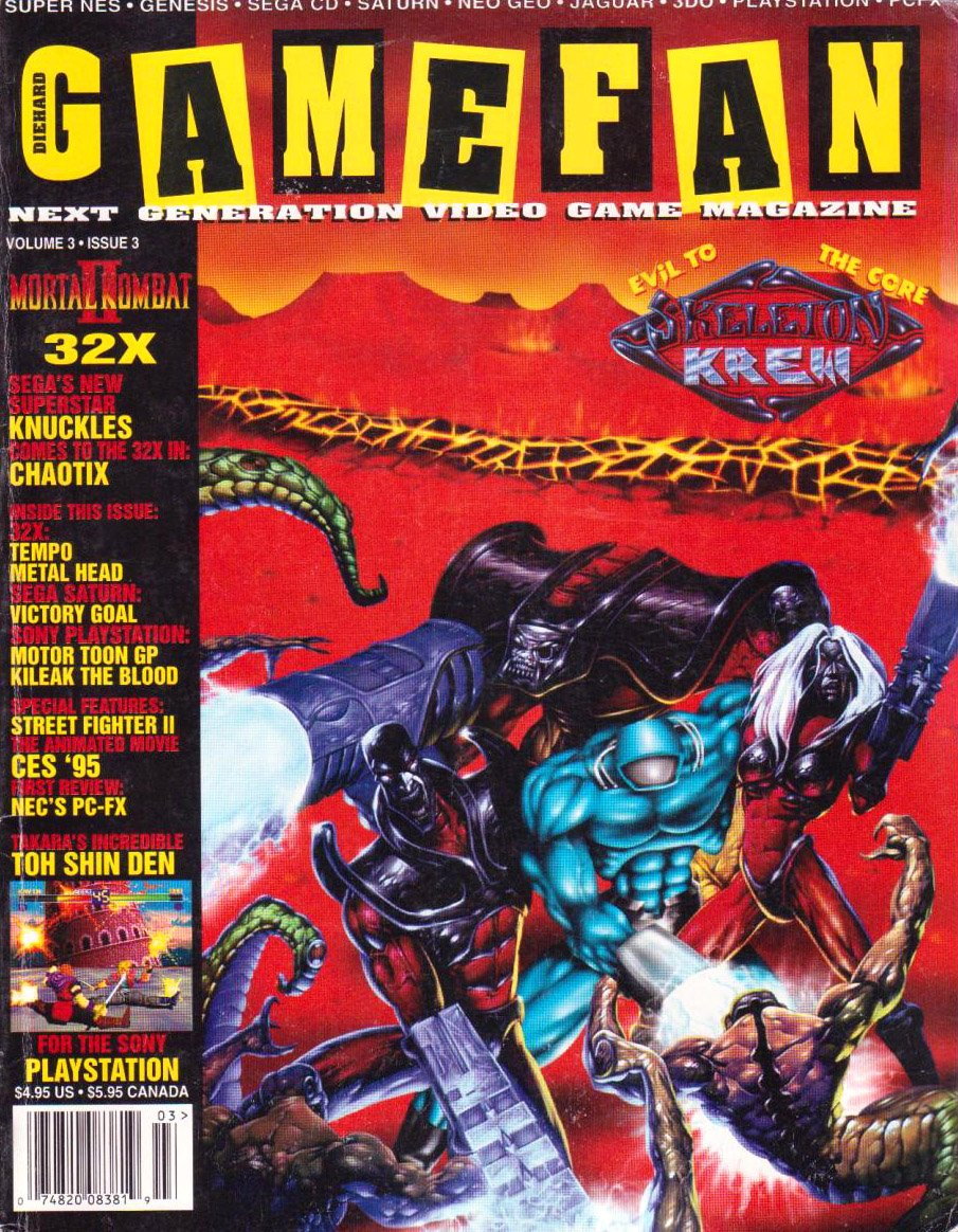 Gamefan Issue 27 March 1995 (Volume 3 Issue 3)
