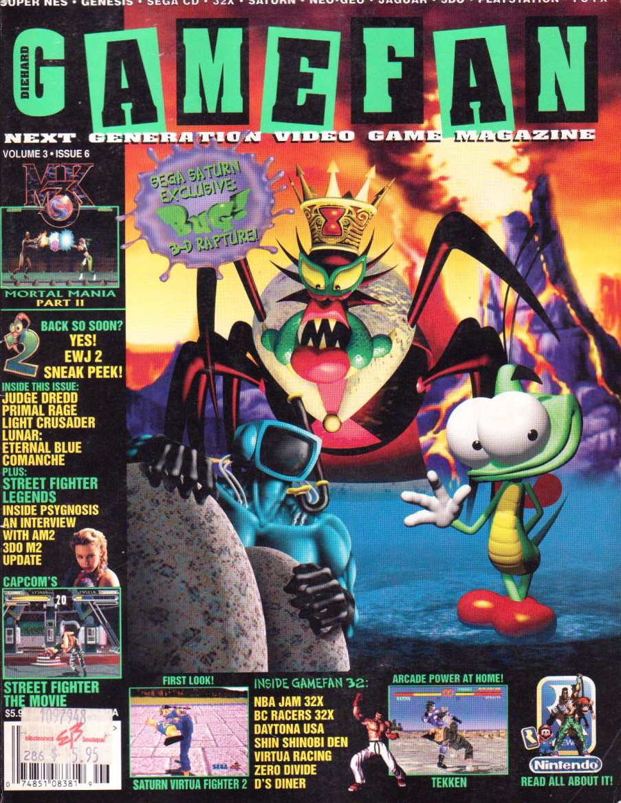 Gamefan Issue 30 June 1995 (Volume3 Issue 6)