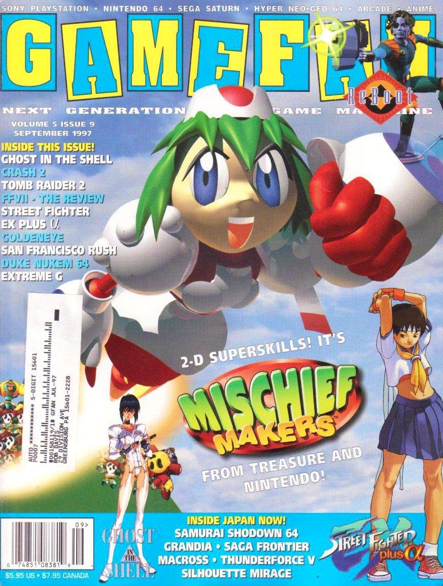Gamefan Issue 57 September 1997 (Volume 5 Issue 9)