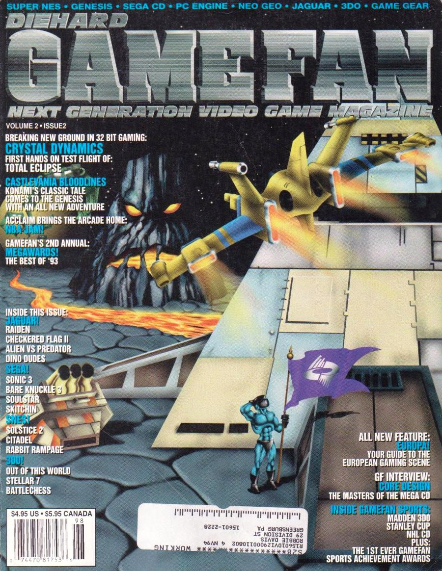 Gamefan Issue 14 January 1994 (Volume 2 Issue 2)