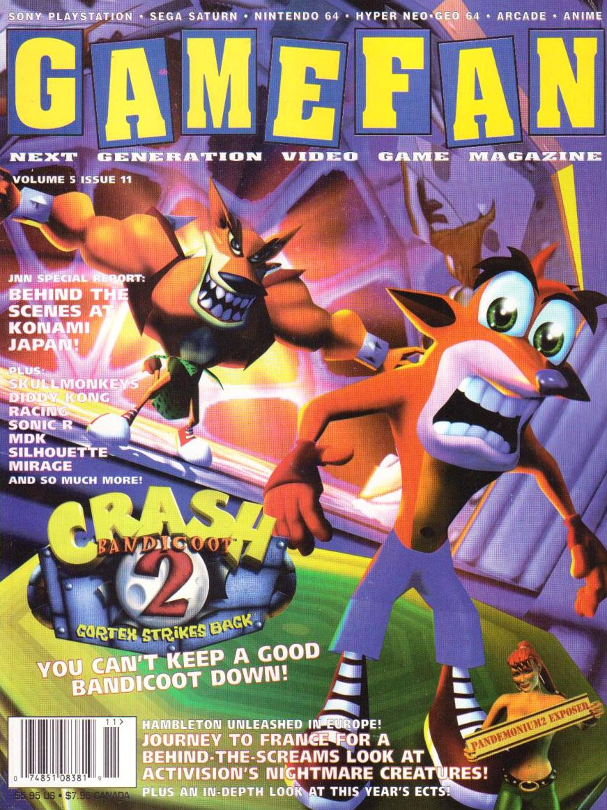 Gamefan Issue 59 November 1997 (Volume 5 Issue 11)