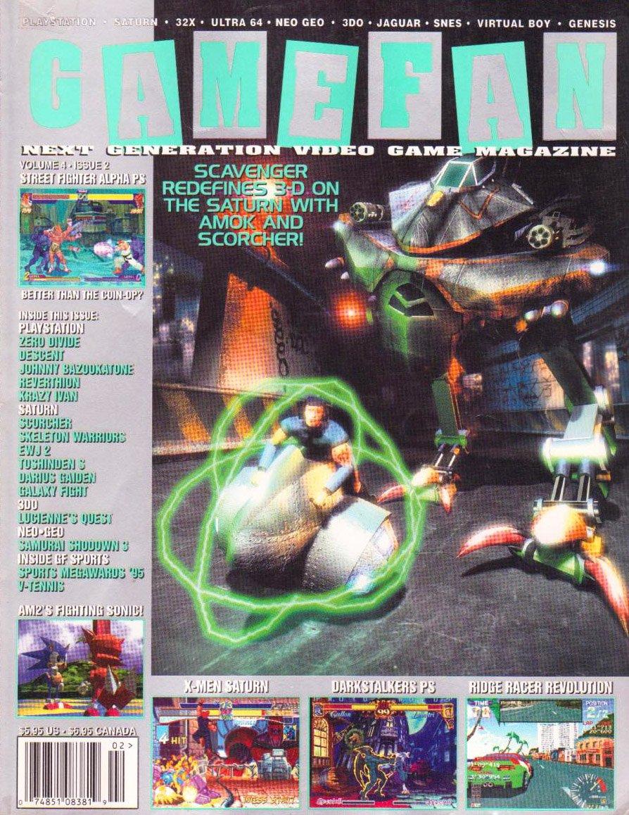 Gamefan Issue 38 February 1996 (Volume 4 Issue 2)