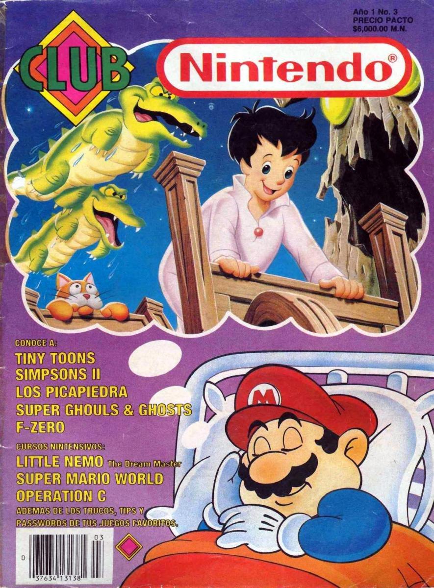 Club Nintendo (Mexico) Volume 1 Issue 03 February 1992