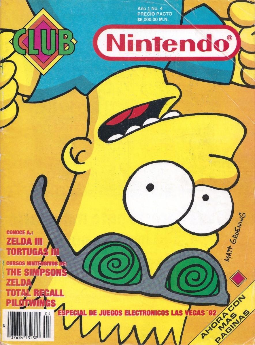 Club Nintendo (Mexico) Volume 1 Issue 04 March 1992