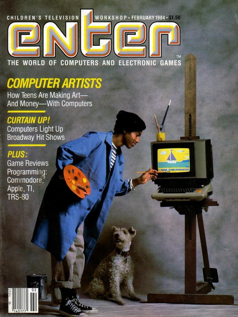 Enter Issue 04 February 1984