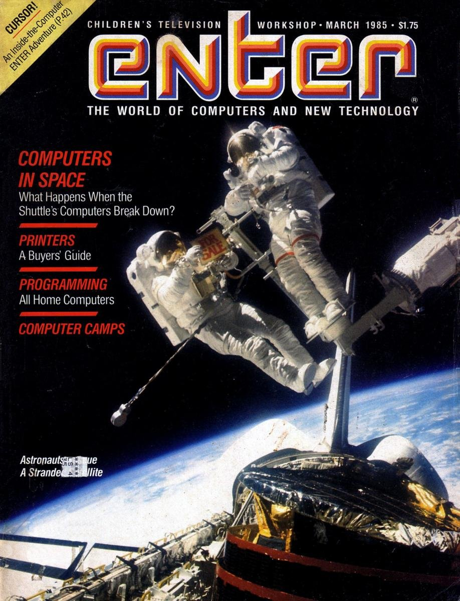 Enter Issue 15 March 1985