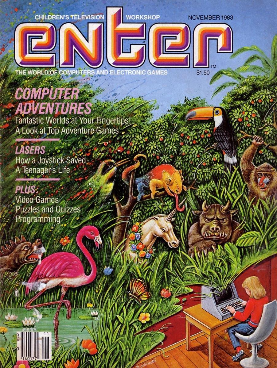 Enter Issue 02 November 1983