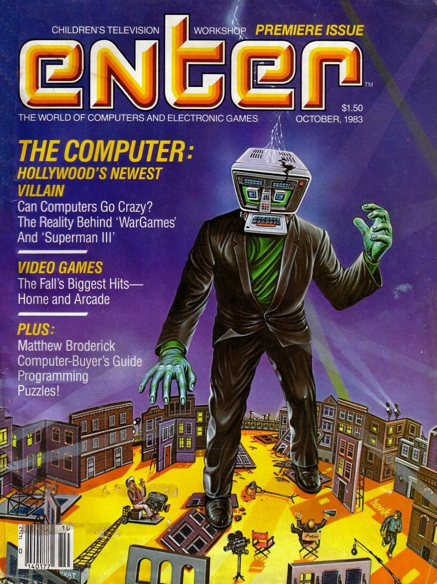 Enter Issue 01 October 1983