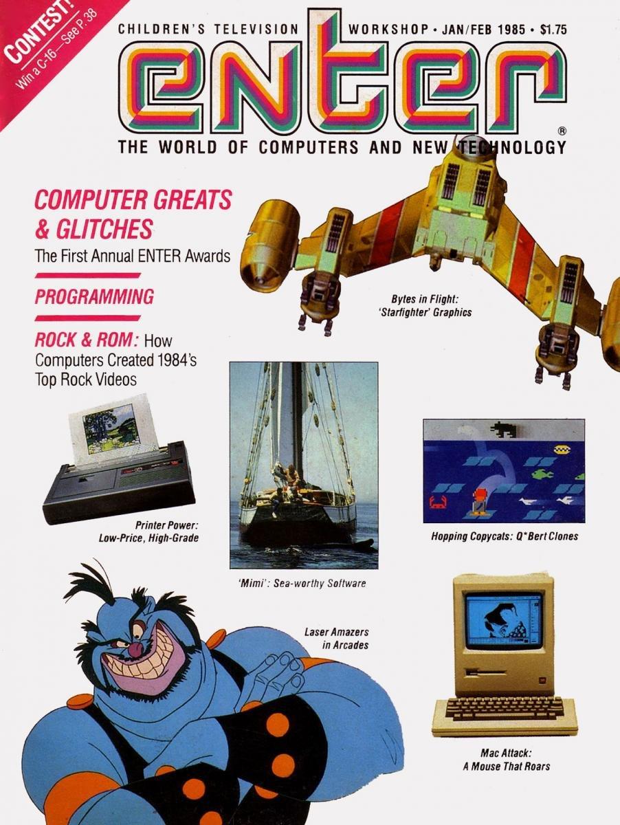 Enter Issue 14 January-February 1985