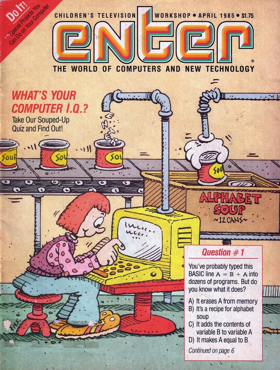 Enter Issue 16 April 1985
