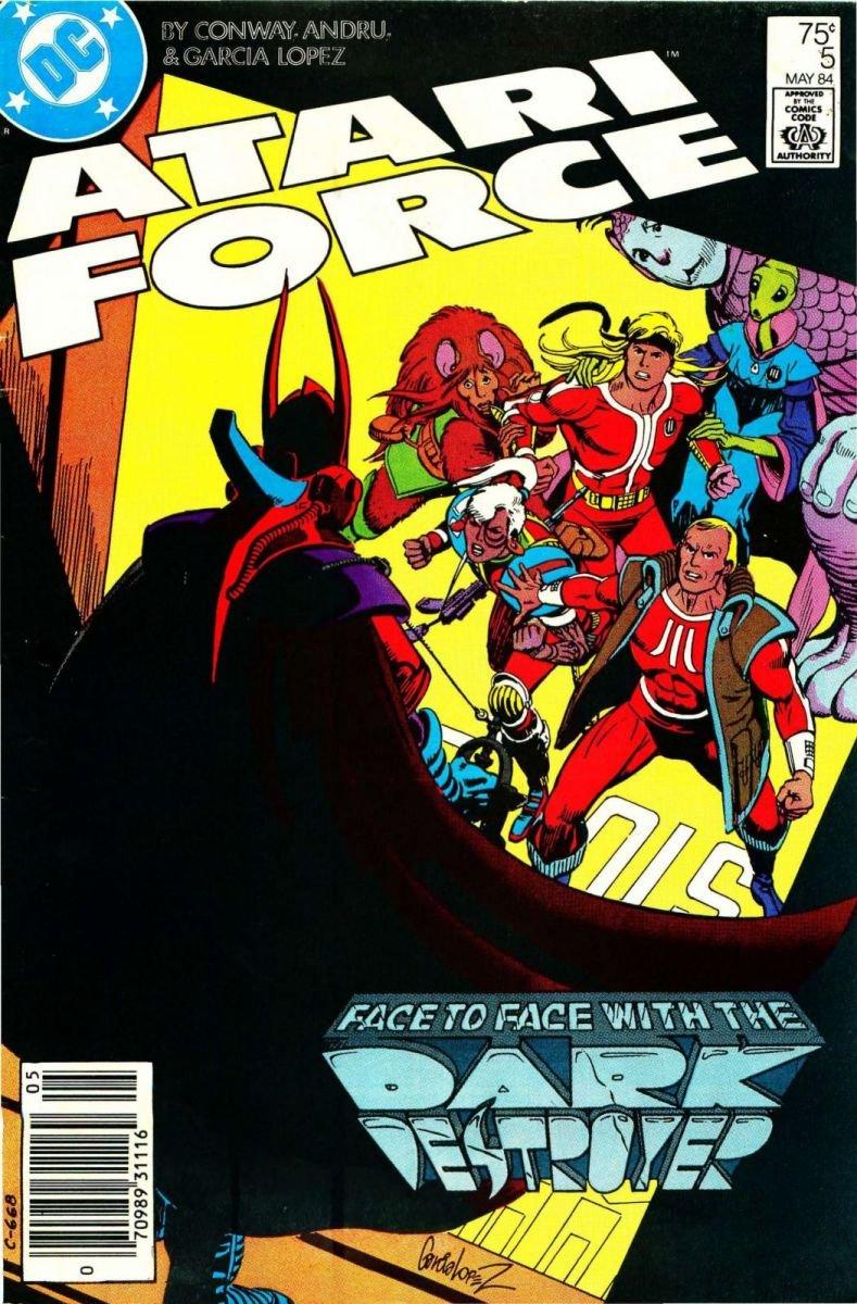 Atari Force Issue 05 May 1984
