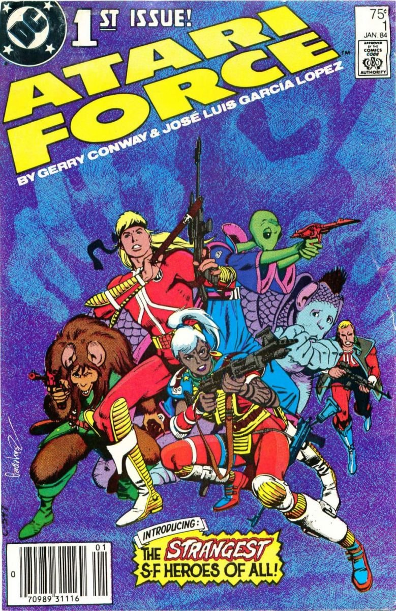 Atari Force Issue 01 January 1984