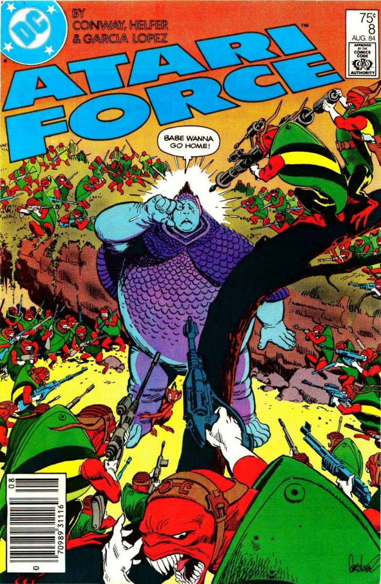 Atari Force Issue 08 August 1984