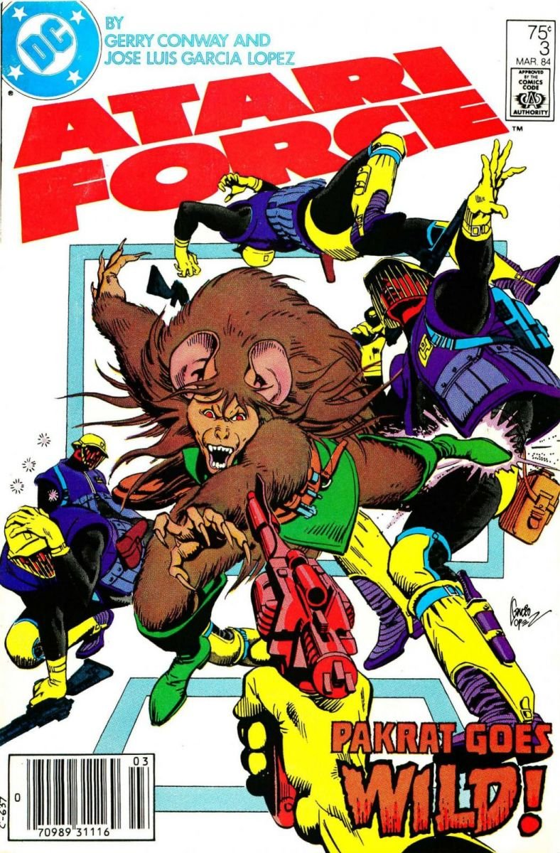 Atari Force Issue 03 March 1984