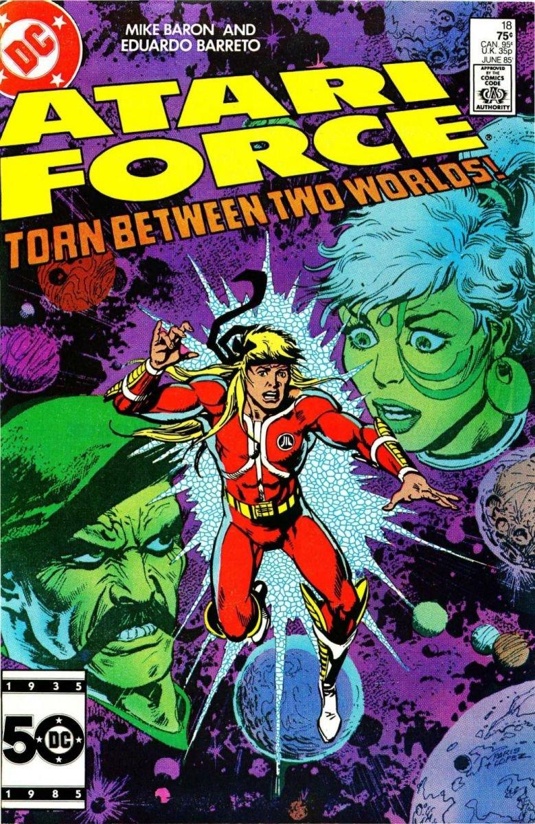Atari Force Issue 18 June 1985