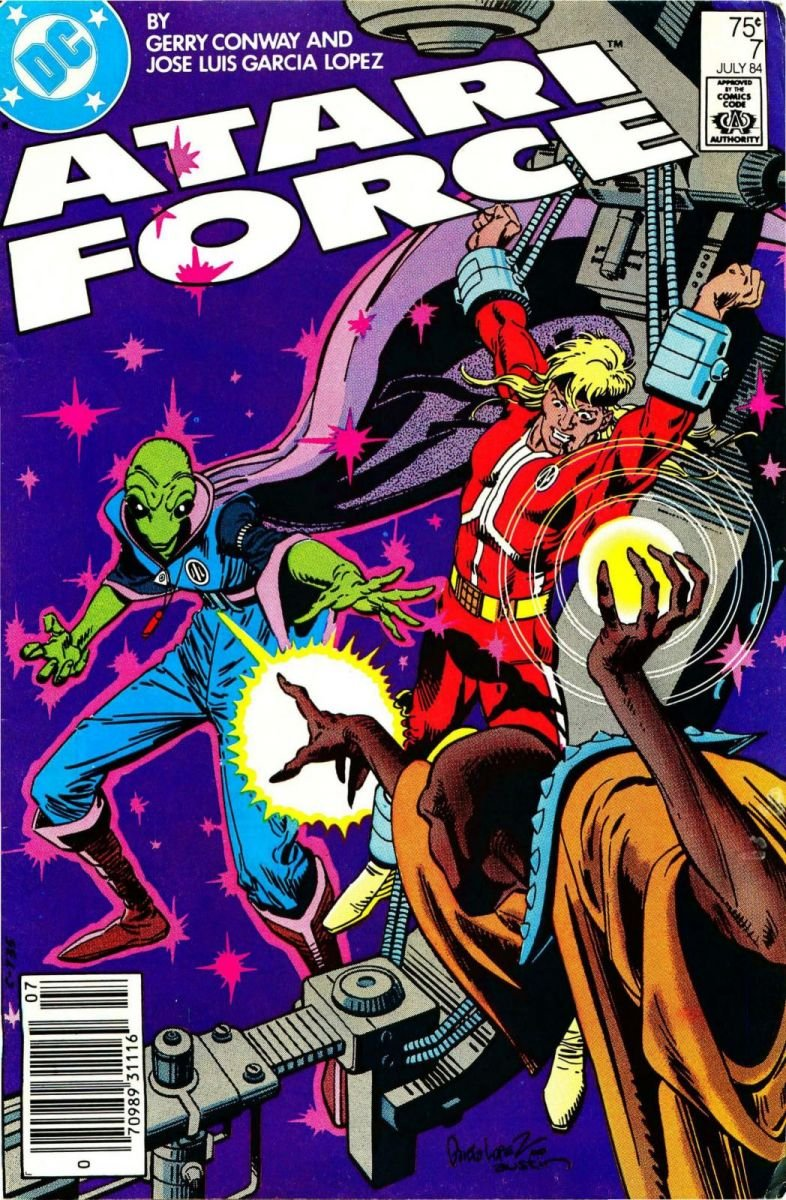 Atari Force Issue 07 July 1984