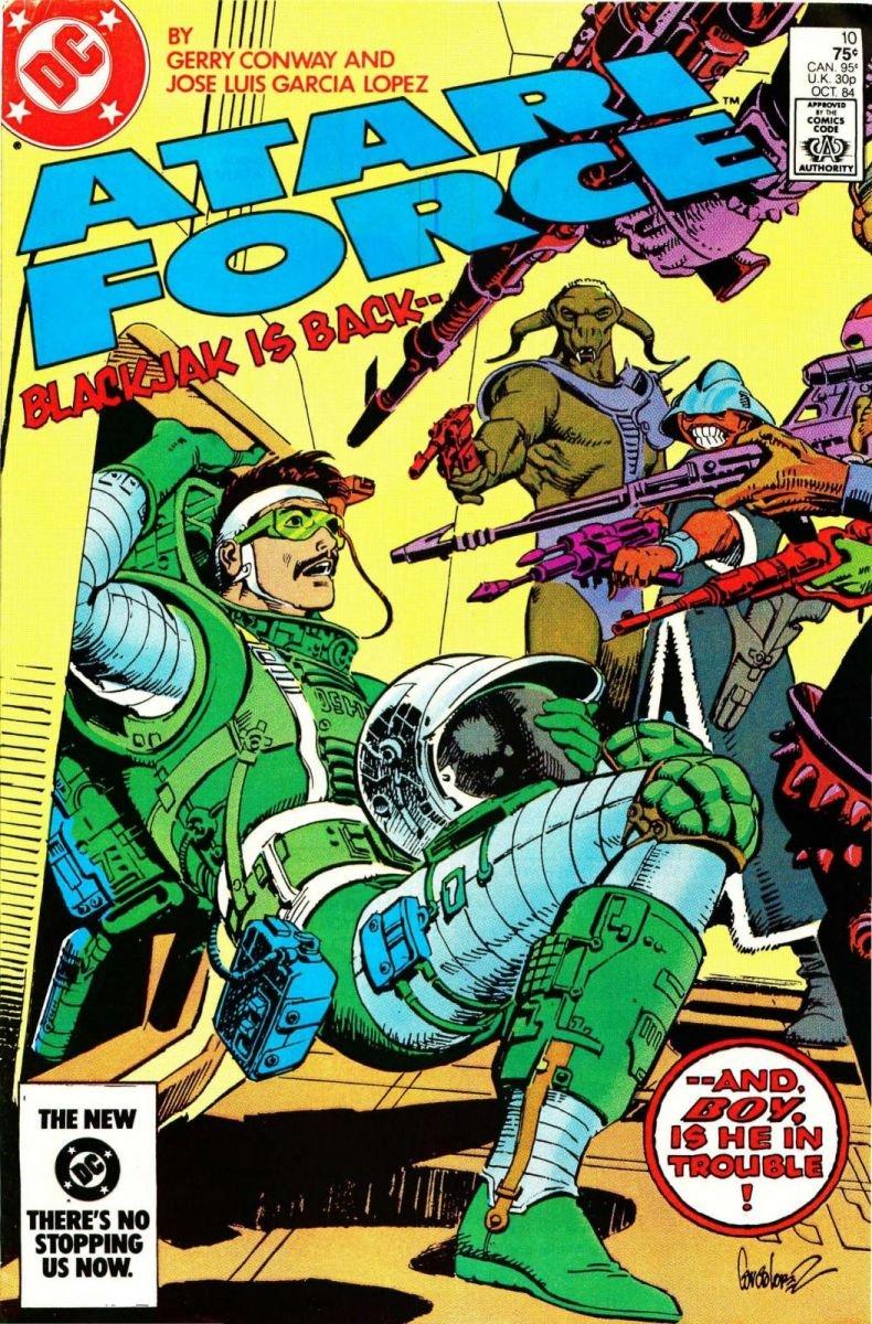 Atari Force Issue 10 October 1984