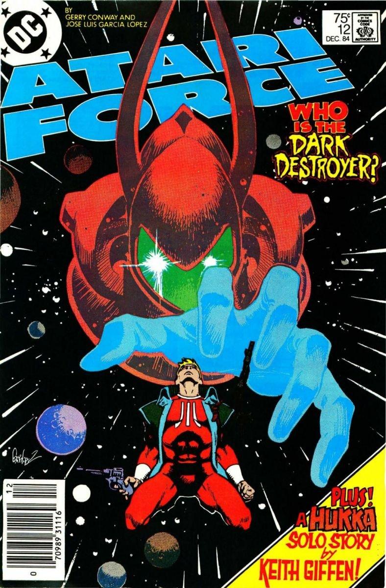 Atari Force Issue 12 December 1984
