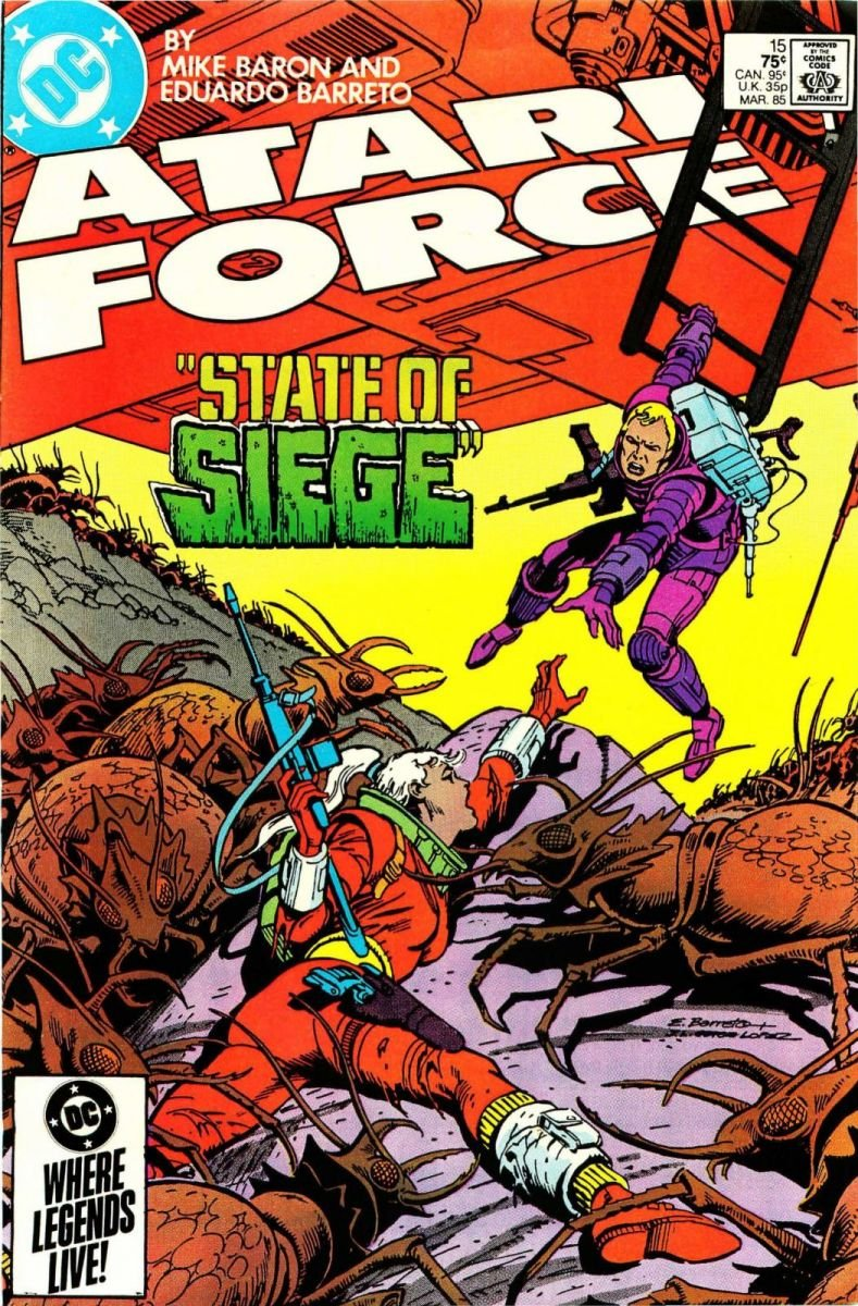 Atari Force Issue 15 March 1985