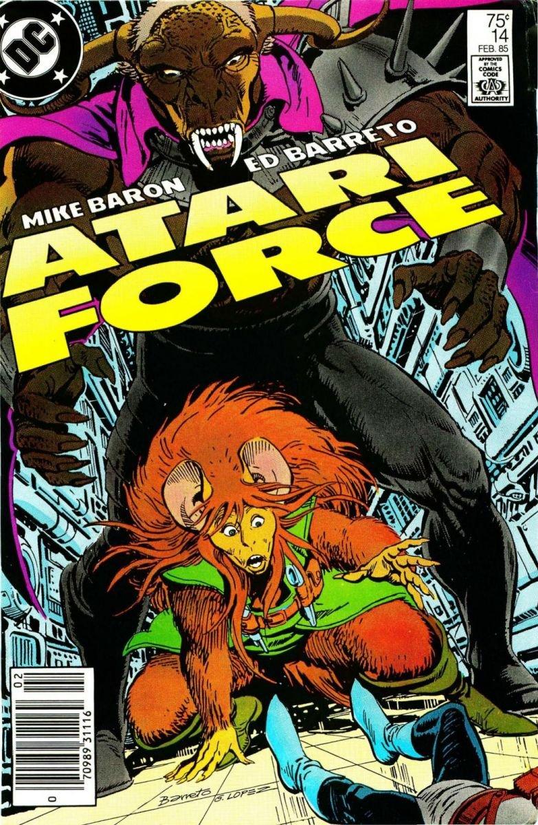 Atari Force Issue 14 February 1985