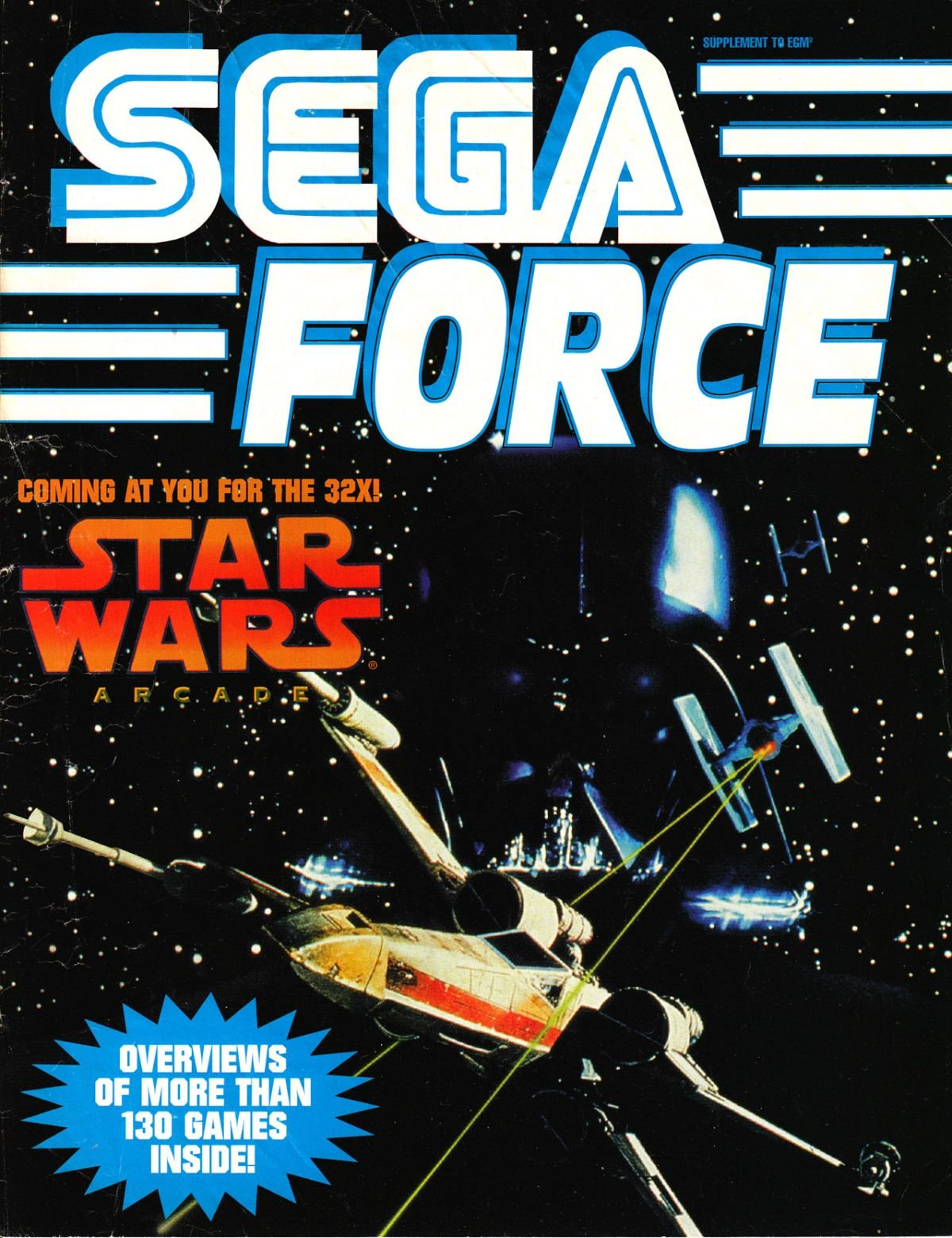 Sega Force Issue 6 November 1994