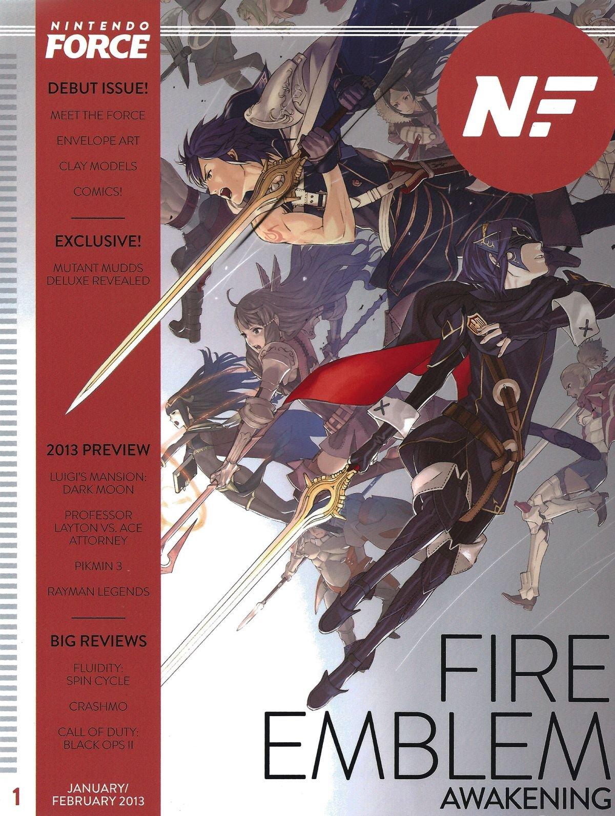 Nintendo Force Issue 01 January/February 2013