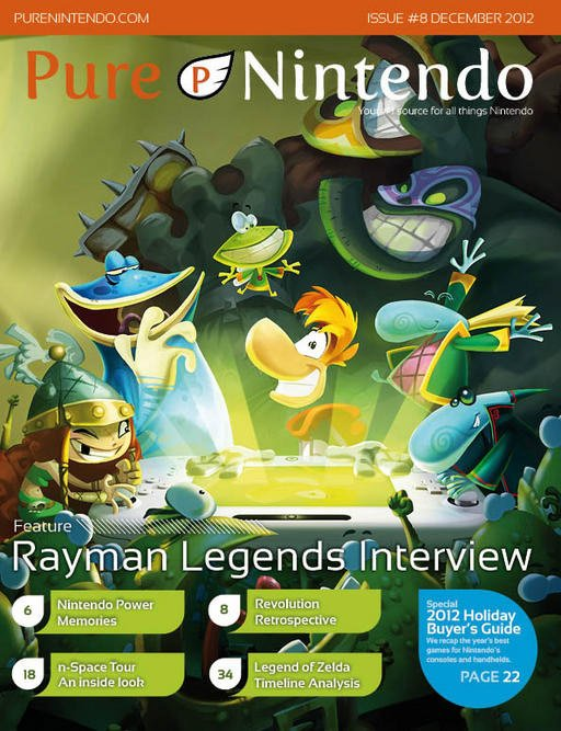 Pure Nintendo Magazine Issue 08 December 2012
