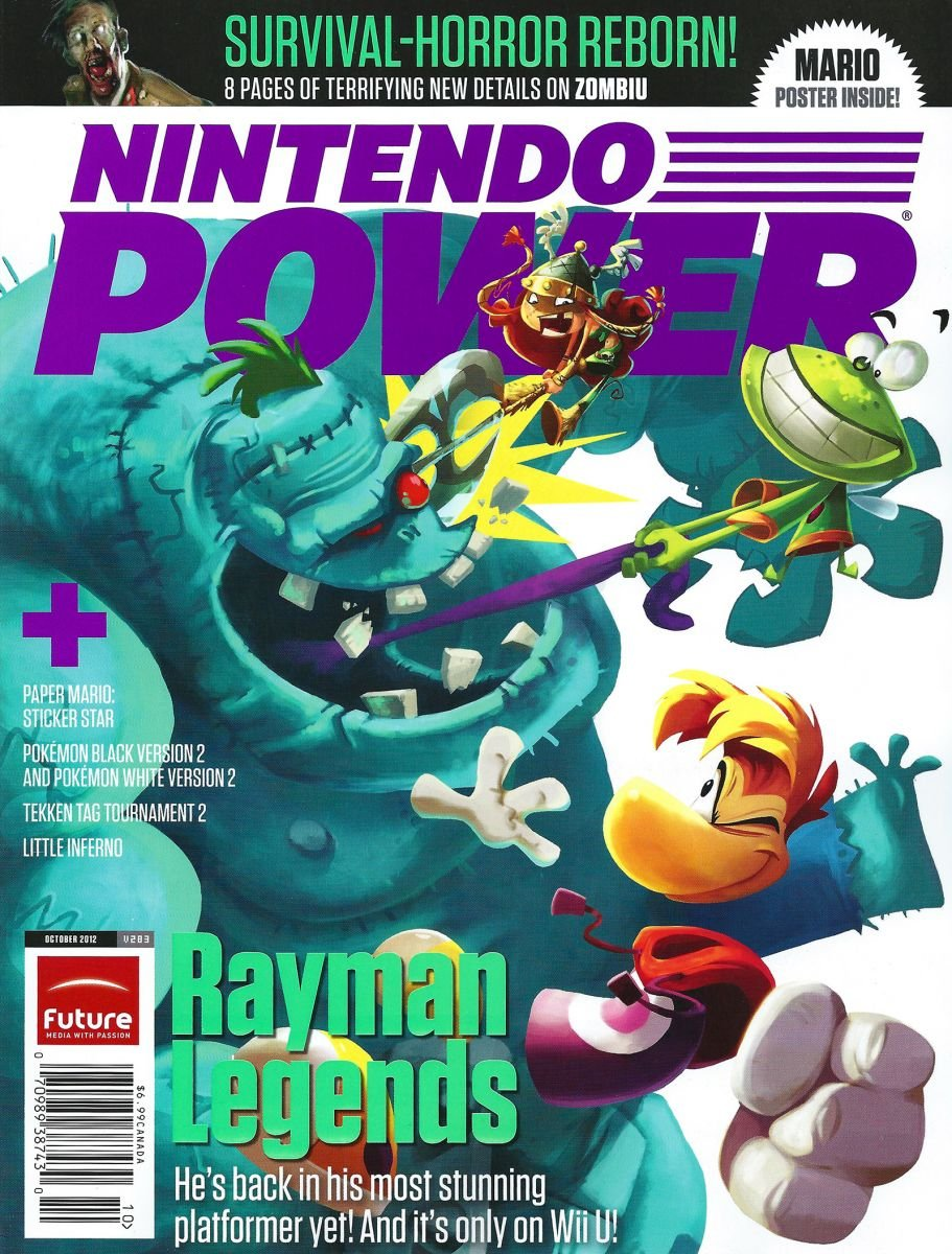 Nintendo Power Issue 283 October 2012 (Retail Cover)