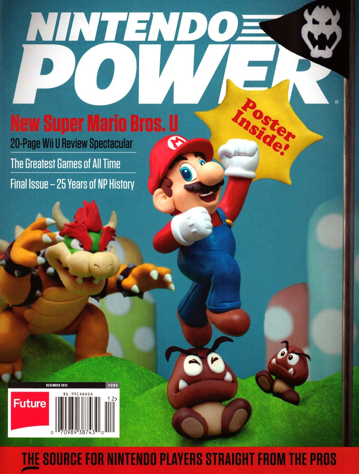 Nintendo Power Issue 285 December 2012 (Retail Cover)