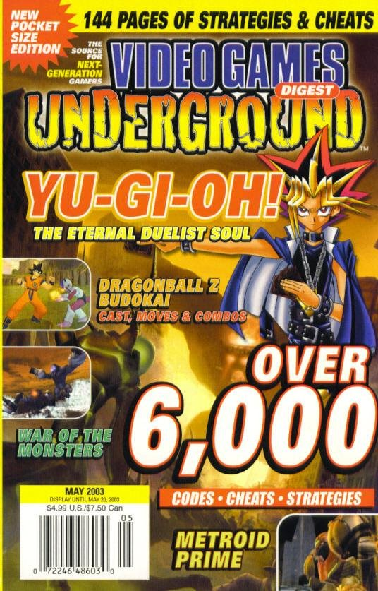 Video Games Underground Issue 7 May 2003