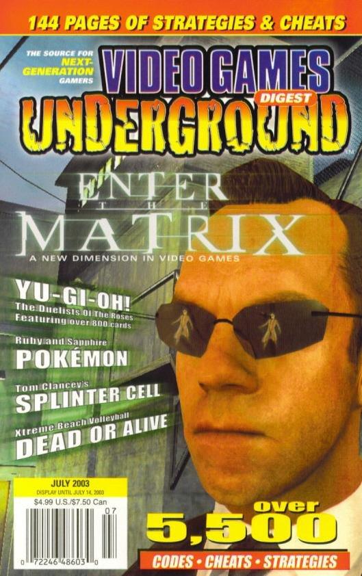 Video Games Underground Issue 8 July 2003