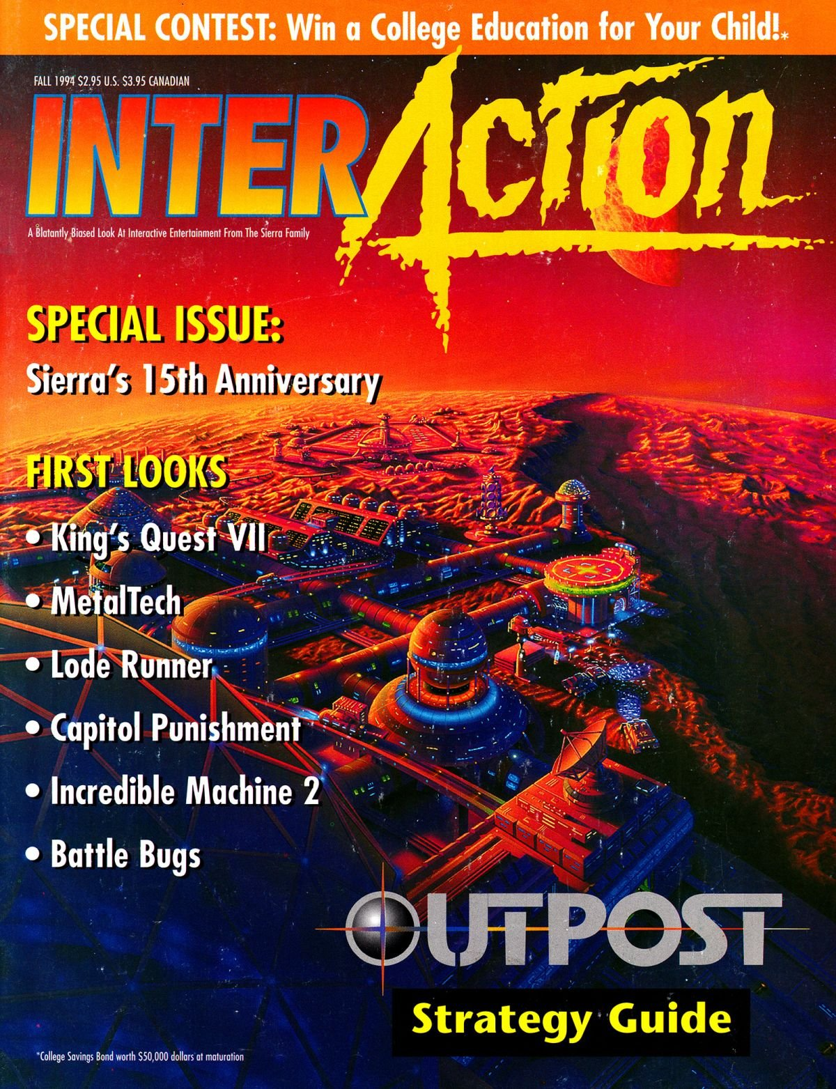 InterAction Issue 21 (Volume 7 Number 1) Fall 1994