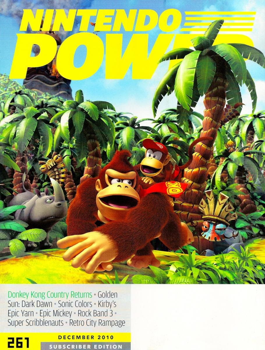 Nintendo Power Issue 261 December 2010 Subscriber Cover