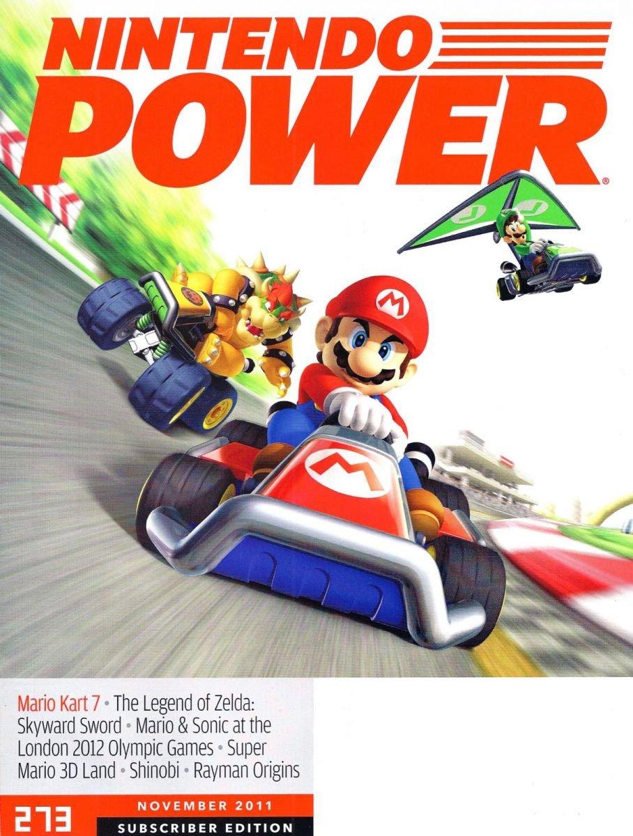 Nintendo Power Issue 273 November 2011