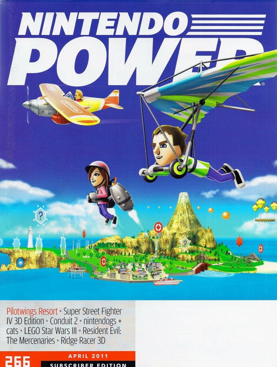 Nintendo Power Issue 266 April 2011