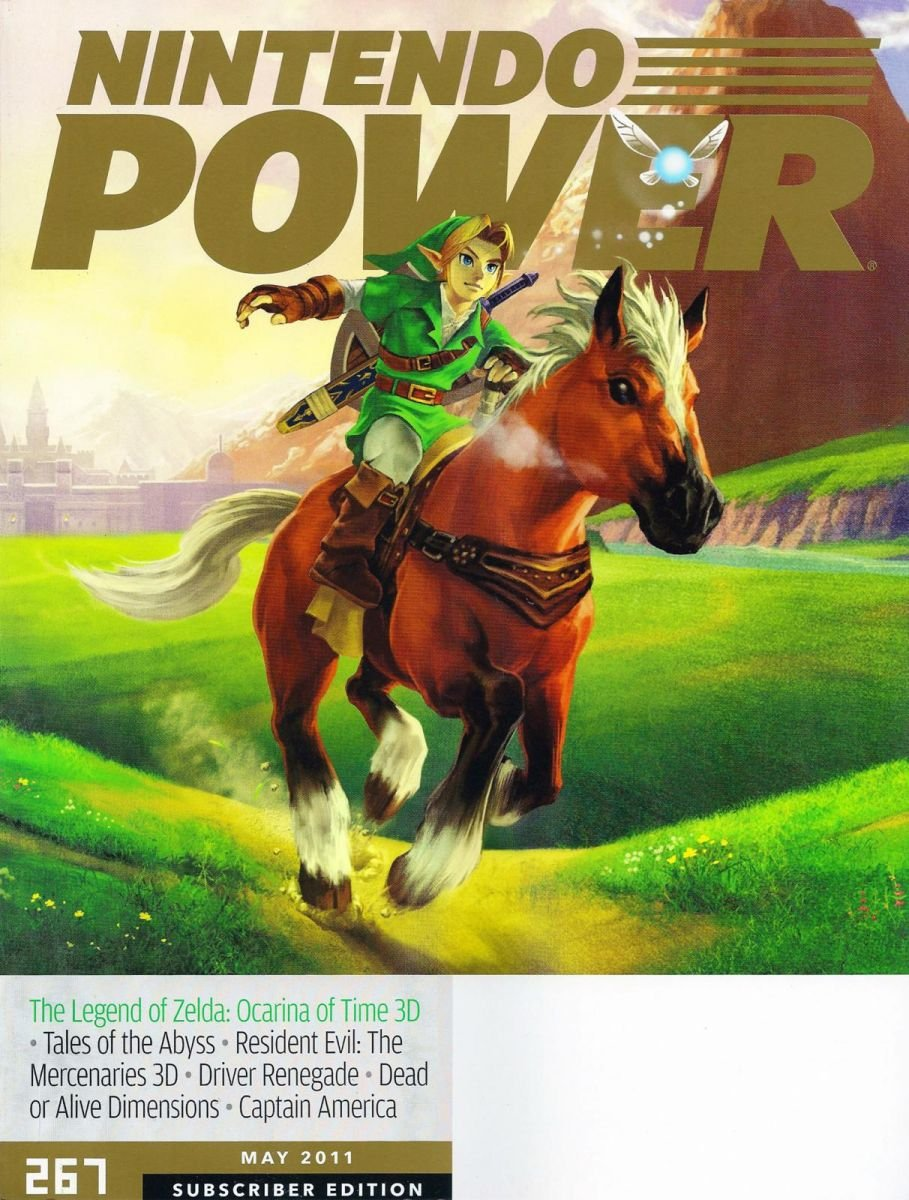 Nintendo Power Issue 267 May 2011