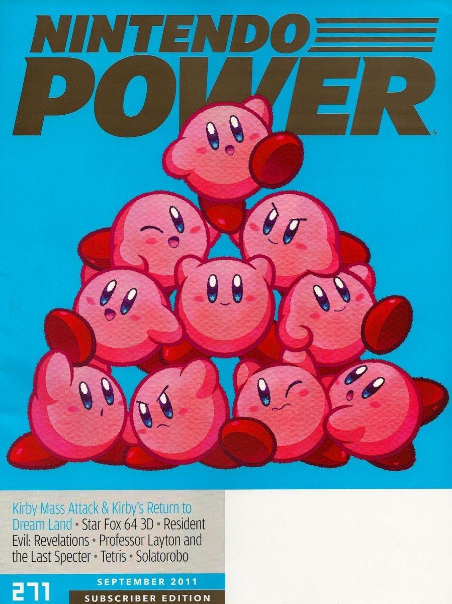 Nintendo Power Issue 271 September 2011