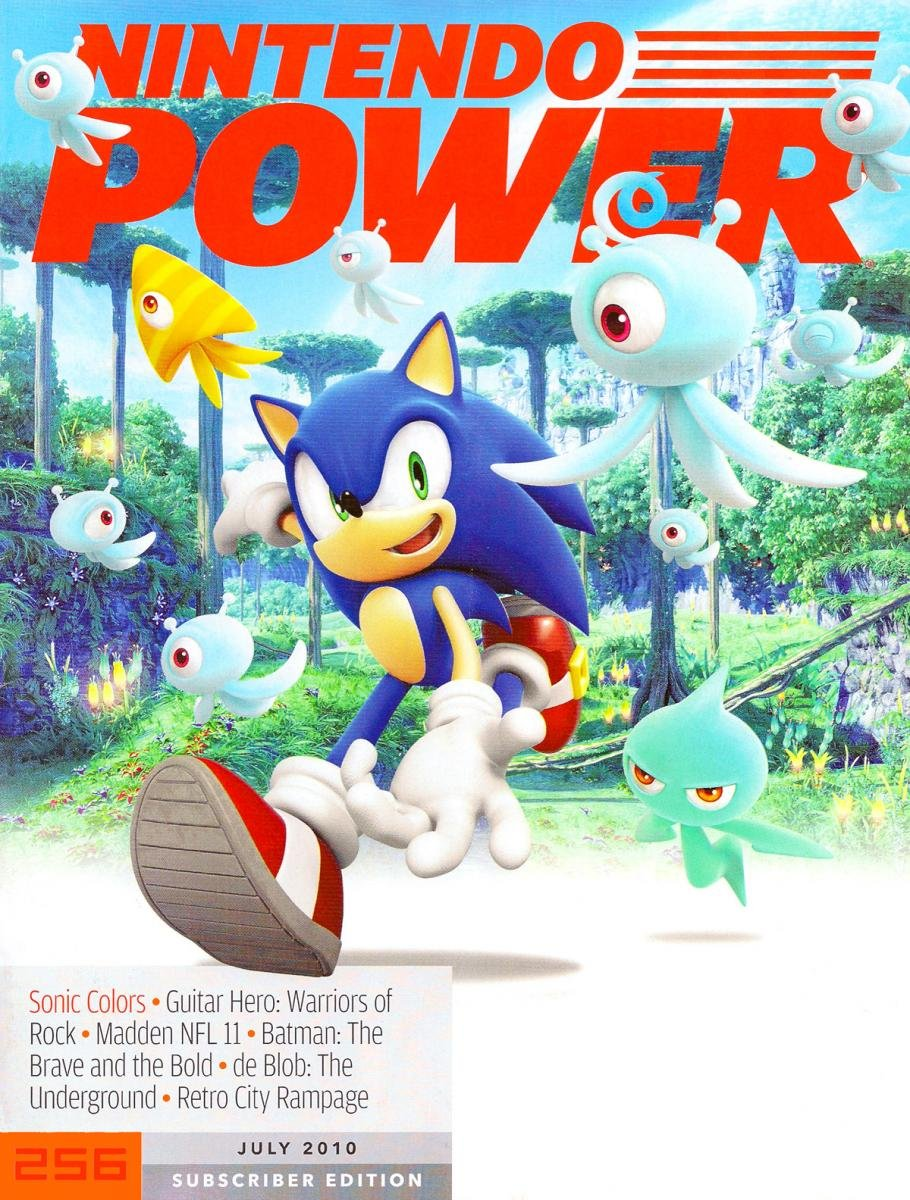 Nintendo Power Issue 256 July 2010