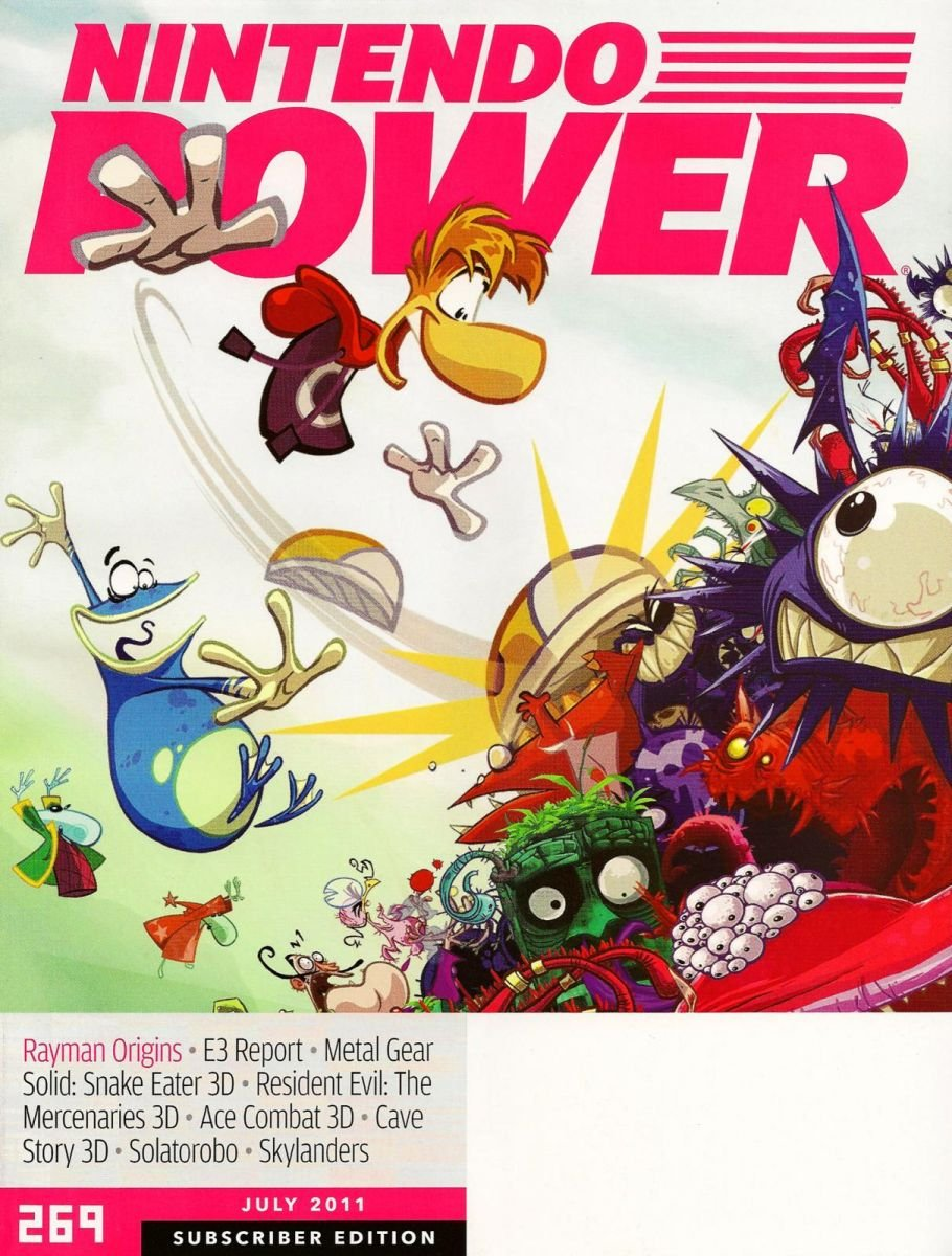Nintendo Power Issue 269 July 2011