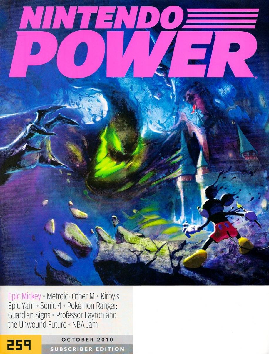Nintendo Power Issue 259 October 2010